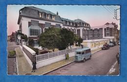 CPSM - BERCK PLAGE - Fondation Franco Américaine Pasteur - 1955 - Camion Citroen Tub - Camion, Tir