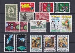 Liechtenstein Kleine Verzameling **, Zeer Mooi Lot K1072 - Timbres