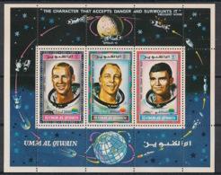 Umm-al-Qiwain - 1970 - N°Mi. Bloc 26 - Espace - Neuf Luxe ** / MNH / Postfrisch - Raumfahrt