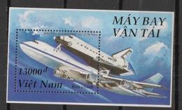 Vietnam - 1996 - Bloc Feuillet BF N°Yv. 93 - Boeing / Space Shuttle - Neuf Luxe ** / MNH / Postfrisch - Raumfahrt