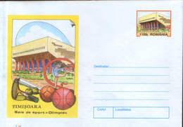 """Romania - Stationery Cover Unused 1999(062) - Timisoara -  """"Olimpia"""" Gym - Interi Postali"""