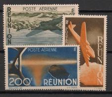Réunion - 1947 - Poste Aérienne PA N°Yv. 42 à 44 - Série Complète - Neuf Luxe ** / MNH / Postfrisch - Réunion (1852-1975)