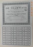 ACTION De La Cie Générale Française De TRAMWAYS  Du 18 Décembre 1875 - Transports