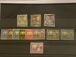 Nueva Caledonia (Tasas) Nº 8/10, 24, 16/23 . Año 1903/27. - Nuevos