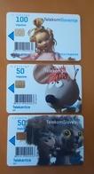 SLOVENIA Phonecards Sapramiska, Kosovir, Zvezdica Zaspanka - Eslovenia