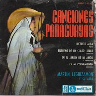 2 Discos Vinilo. 45 T. Canciones Paraguayas Y Don Pepito Habia Una Vez El Circo. Condición Media. - Vinyl-Schallplatten