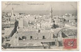 Ottoman Empire Turkey Libya Postcard Sent To France 1917 Tripoli - 1858-1921 Ottoman Empire