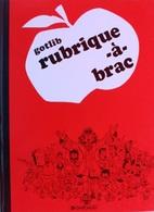 """LA """"rubrique-à-brac"""" - GOTLIB - 1974 - Gotlib"""