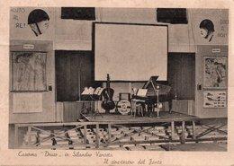 """CT-03326- CASERMA """"DRUSO"""" IN SILANDRO VENOSTA """"IL CINE TEATRO DEL FANTE"""" VIAGGIATA - War 1939-45"""