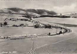 ASIAGO-VICENZA-CARTOLINA VERA FOTOGRAFIA- VIAGGIATA IL 21-1-1956 - Vicenza
