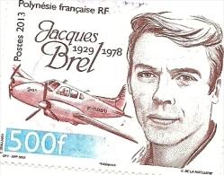 1022  Jacques Brel  (734) - Polynésie Française