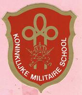 Sticker - KONINKLIJKE MILITAIRE SCHOOL - Autocollants