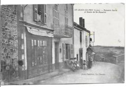 SAINT JEAN LE PUY - Epicerie Ravis Et Route De Saint Maurice - Altri Comuni