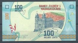 Madagascar Nouveau Billet 100 Ariary Neuf ** - Madagascar