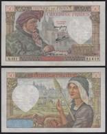 Frankreich - France - 50 Francs 18-12-1941 Pick 93 VF (3)    (24716 - Frankreich