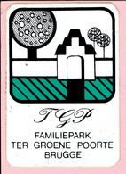Sticker - TGP - Familiepark TER GROENE POORTE BRUGGE - Autocollants