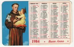 Calendario 1984 Santino Sant'Antonio Di Padova - Calendari