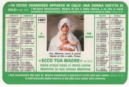 Calendario 1987 Santino GAM Gioventù Ardente Mariana - Calendarios