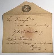 Russia ST PETERSBURG 1851 10 Kop Postal Stationery (Russland Ganzsache Russie Cover Lettre Brief - 1857-1916 Empire