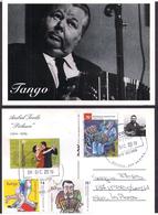 Argentina - 2019 - Lettre - Tango - Emission France / Argentine - Bandonéon - Anibal Troilo - Storia Postale
