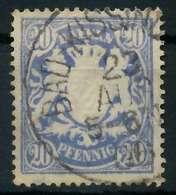 BAYERN Nr 57Byb Gestempelt X89017E - Bavaria