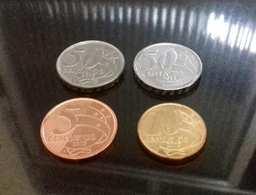 LSJP BRAZIL 4 COINS 2019 (5A, 10, 50 AND 50A) - Brazil