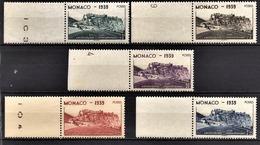 MONACO 1939 / 1940 - Y.T. N° 195 A 199 - NEUFS** - Nuovi