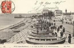 """/ CPA FRANCE 06 """"Nice, Le Quai Du Midi Et La Jetée Promenade"""" - Autres"""