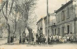 """/ CPA FRANCE FRANCE 13 """"Grans, Mairie Et Groupe Scolaire"""" - Autres Communes"""