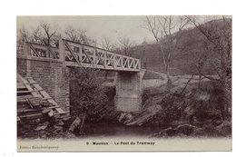 Mauleon- Licharre. Le Pont Du Tramway. Cachet Convoyeur Mauleon A Aramits.1906. - Mauleon Licharre