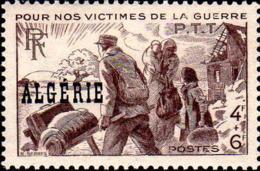Algérie Poste N** Yv:242 Mi:240 Pour Nos Victimes De La Guerre - Argelia (1924-1962)
