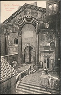 Split - Spalato - Diokle. Palača - Peristil (1906) - Croatia