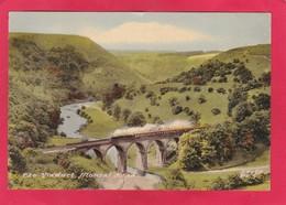 Modern Post Card Of Viaduct,Monsal Head,Monsal Dale, Buxton, Derbyshire,England.,P28. - Derbyshire