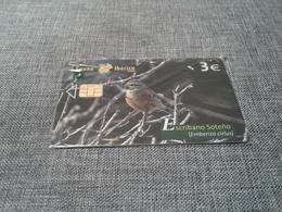 Spain - Nice Phonecard Fauna Iberica - España