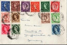 ! 1958 Queen Elisabeth II. Cover, Bournemoth - Poole - 1952-.... (Elizabeth II)