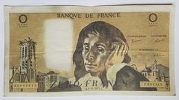 BILLET FRANCE - FANTAISIE - PASCAL - ZERO FRANCS F.03/11/1977F - PHOENIX - BILLET DE THEÂTRE ?- FORMAT : 180x95 Mm - Fictifs & Spécimens