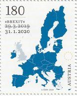 """RAR !!! AUSTRIA Jahr 2020 """"Brexit""""  MNH / ** / Postfrisch - 1945-.... 2ème République"""
