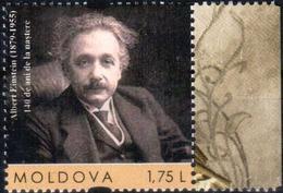 "Moldova 2019 ""140th Anniversary Of Albert Einstein"" 1v Quality:100% - Moldavie"