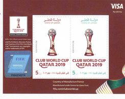 Qatar New Issue 2019,Club Fuafa Cup Issued Souvenir Sheet MNH Compl.set Nice Topical- ( No Skrill & Paypal ) - Qatar