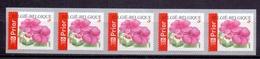 Belgie - 2004 - OBP - **  Rolzegel 110 - Strook Van 5 - Impatiens - Vlijtig Liesje -  Bloemen -  Andre Buzin - Coil Stamps