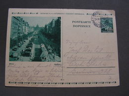 BM Bildkarte Prag Aus Hradec 1942 - Bohemia & Moravia