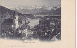 Thun (Suisse) - Mit Den Alpen - BE Berne