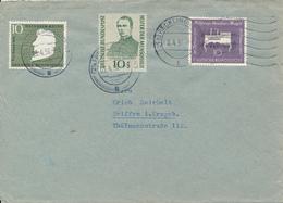 RECKLINGHAUSEN  -  1956  ,  Kolping , Mozart , Heine  ,   Brief Nach Seiffen / Erzgeb. - [7] République Fédérale