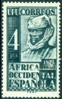 SPANISH COLONIES - WEST AFRICA 1949 NATIVE** (MNH) - Ifni