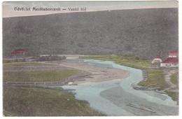 # 11100 Slovakia, Mezőlaborcz, Medzilaborce Postcard Mailed 1914: Vasúti Hid, Railway Bridge - Slovacchia