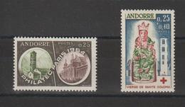 Andorre Français Année Complète 1964 Du 171 Au 172 2 Val. ** MNH - Années Complètes