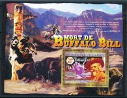 NB - [402051]TB//**/Mnh-Guinée 2007 - Mort De Buffalo Bill, Cow Boy, Indiens D'Amérique - History