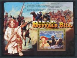 NB - [402089]TB//**/Mnh-Guinée 2007 - Mort De Buffalo Bill, Cow Boy, Indiens D'Amérique, Buffle - History