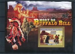 NB - [402088]TB//**/Mnh-Guinée 2007 - Mort De Buffalo Bill, Cow Boy, Indiens D'Amérique - History