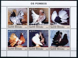 NB - [402327]TB//**/Mnh-Guiné-Bissau 2003 - Les Pigeons - Columbiformes